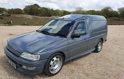 Ford Escort Mk5 Van. 1.8 130PS Zetec. RS2000. XR3i. Stealth Grey. 1994. New mot