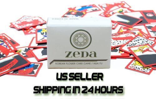 ZEDA International Korean Flower Card Game /Hwatu/Go-stop/Godori //US Seller