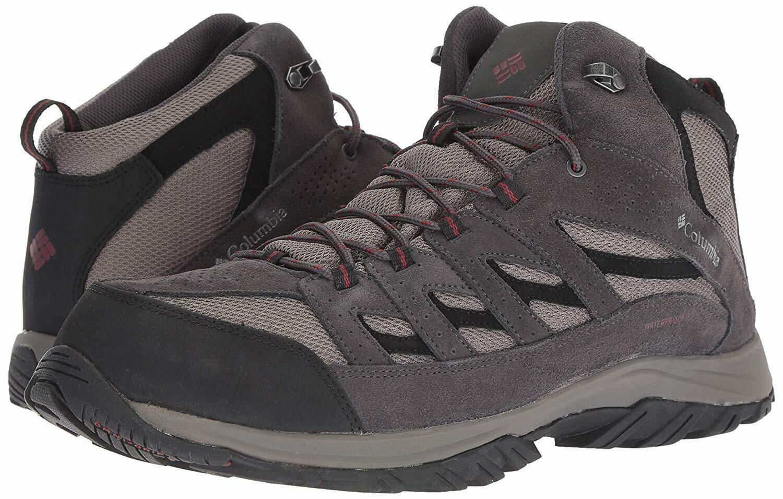 18c804e6c23 Columbia Men's Crestwood Mid Waterproof Hiking Boot US 16 NIB