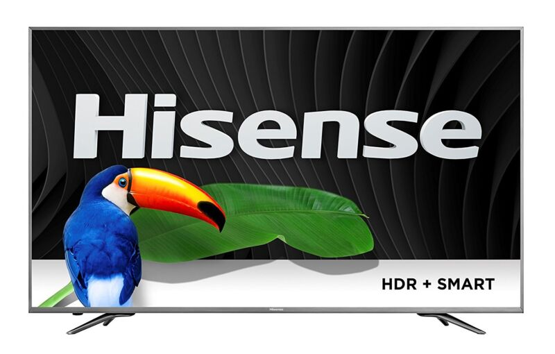 "Hisense 65"" Class (64.7"" Diag.) LED 2160p Smart 4K Ultra HD TV with High Dynamic Range 65H9D PLUS"