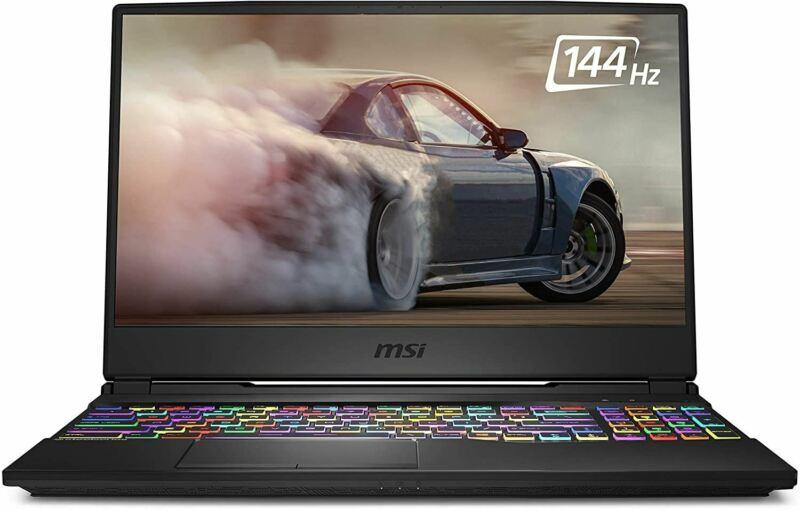 "MSI GL65 Leopard 10SFK-062 15.6"" FHD 144Hz 3ms Thin Bezel Gaming Laptop Intel Co"