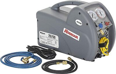 New Open Box Never Used Robinair 25700 Refrigerant Recovery Machine2-port Type
