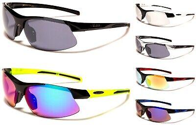 X-Loop Sonnenbrille Herren oder Damen Wrap Sports Radfahren Laufen Sommer Brille