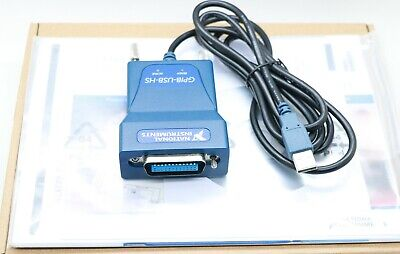 Us Ni Gpib-usb-hs Card 778927-01 Usb Gpib Data Acquisition Cable Ieee488