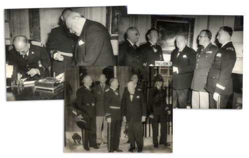 Winston Churchill Lot of Cigar Humidor Press Photos
