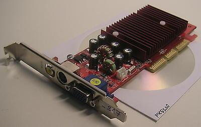 AGP VGA Video Card Gainward Nvidia GeForce FX5200 64MB G431320FO094 (_317) - Agp Vga Video Card