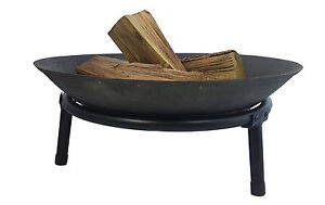 Feuerschale 50 cm  - Garten Feuerkorb Klöpperboden Pflanzschale Feuerstelle