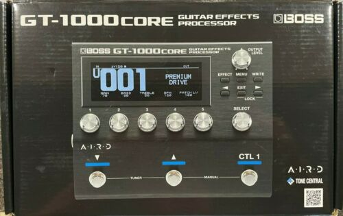 Boss GT-1000 Guitar Effects Processor in New Condition with Box