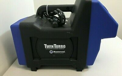 Air Conditioning Recovery Machine - Twin Turbo -master Cool - Refrigerant - Hvac