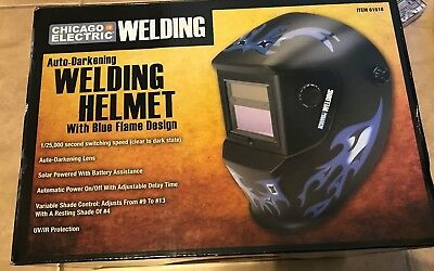 Chicago Electric Welding Systems Pack of 5 Welding Lens Covers for Blue Flame Helmet