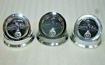 Lot Of 3 Sg Combo Safe Locks-liberty Logo-3 Different Colors-locksmith