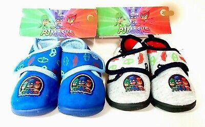 Pantofole PJMASKS bambino bimbo a strappo antiscivolo calde e comode nuovo