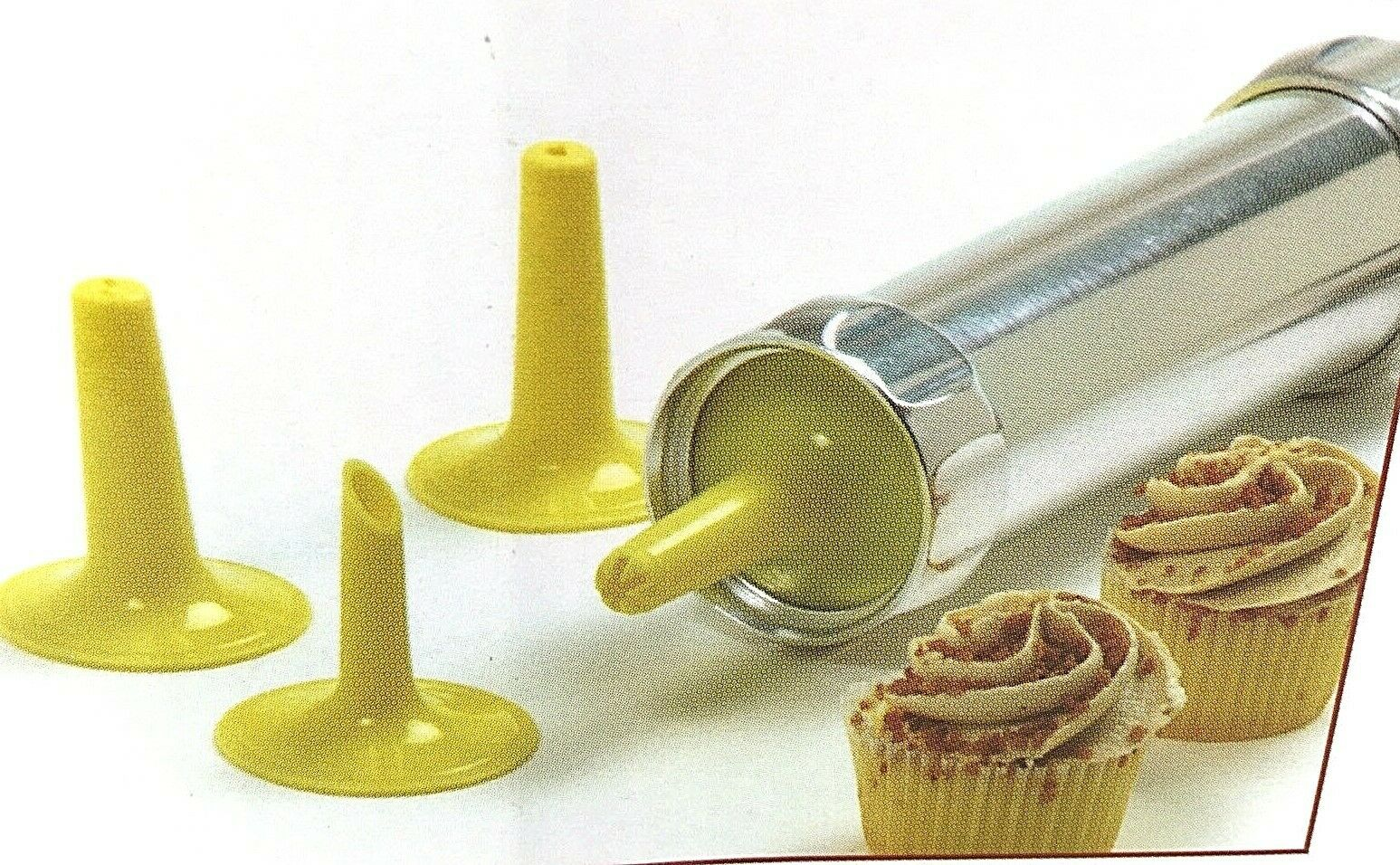 Norpro Cookie/Icing Press Gun Deluxe Set with 20 Dies and 4