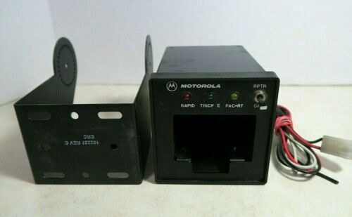 Motorola TDN9816A Vehicular Radio Battery Charger with Bracket & Wires HT1000