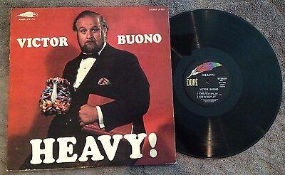Victor Buono - Heavy! - Vinyl LP Album Record - LP-325 - Dore - Comedy