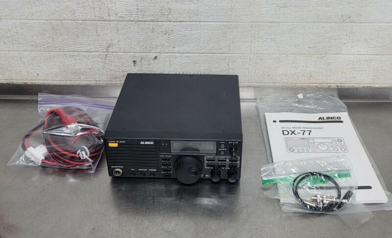 Alinco DX-77 HF All Mode Transceiver