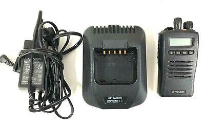Kenwood Tk-2140 Tk-2140-1 Vhf Portable Radio 136-174mhz W Charger - No Battery