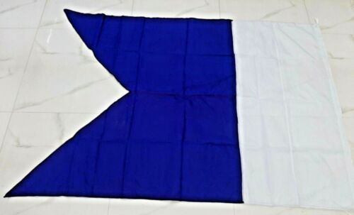 Vintage Nautical marine Big flag A6
