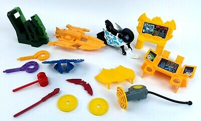 Fisher Price Imaginext Batman Playset Riddler Penguin Accessory Weapon Parts Lot