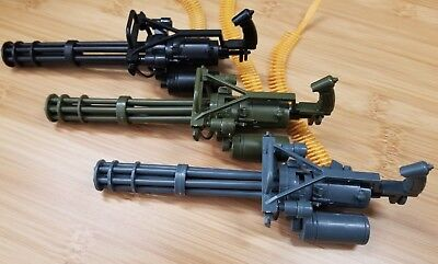 Choose Color - RC 1/10 Scale Toy M134 Gatling Minigun Gun Rock Crawler Truck  10 Scale Trucks
