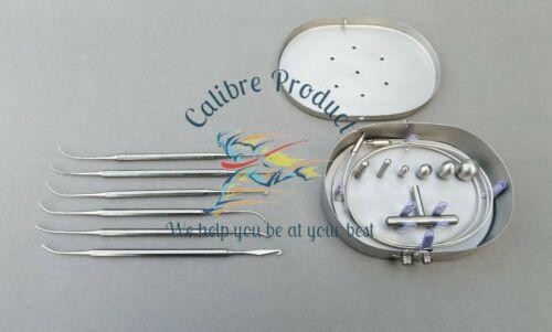 Nabatoff Stripper Set & Varady Phlebectomy Extractors & Hooks Plastic Surgery