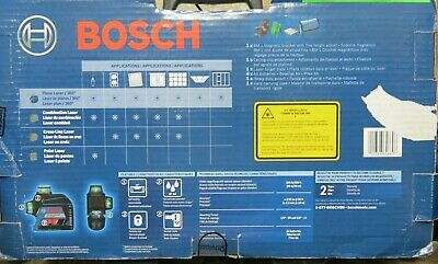 Bosch Gll3-300g 360-degrees 3-plane Green Beam Self-leveling Line Laser