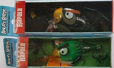 Rapala Angry Birds Set Of 2 Lures (!!RARE LURES!!)