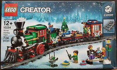 LEGO 10254 Creator Winter Holiday Train 2016 734 Pcs New Box Opened