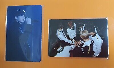 bts 3rd muster DVD army zip Official Photo Card jungkook jk + group photo card