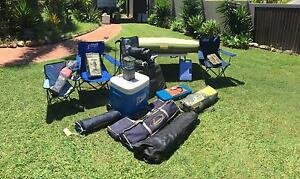 GOING CAMPING?? 4V DOME TENT CAMPING STRETCHERS + HEAPS MORE Ashmore Gold Coast City Preview