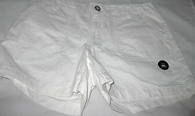 Womens Old Navy Shorts Size 8 Pure White