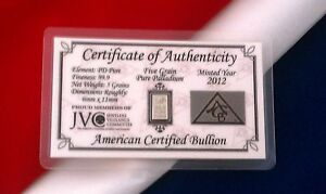 ACB-Palladium-With-COA-Solid-5GRAIN-SOLID-BULLION-MINTED-BAR-99-9-Pure-PD