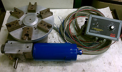 Motorized Rotary Indexing Table W Danfoss C Cycletrol 2000 Controller 12 Dia.