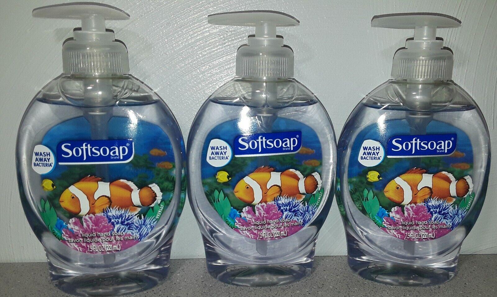 Softsoap Aquarium Series Liquid Hand Soap Antibacterial 7.5