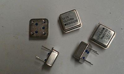 5 Pcs Vf75 50.00 Mhz 50mhz Crystal Oscillator Clock Module Korea Ic Can 4 Pins