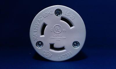 Replacement 30 Amp 125 Volt Female Twist Lock 3 Wire Power Cord Plug Nema L5-30r