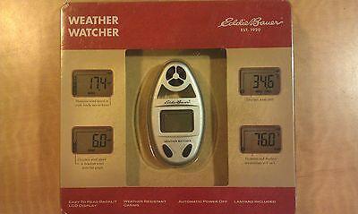 Eddie Bauer Weather Watcher - Portable LCD Weather Watcher (Silver)