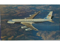 AIR FORCE ONE VC-137C STRATOLINER 62-6000 SAM 26000 IN 1963  8X10 PHOTO BB-171