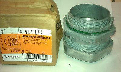 3 Seal-tight Connector Straight Sealtite Liquidtight Bridgeport Arlington