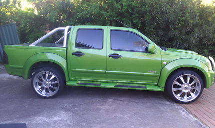 2006 Holden Rodeo BRUTE.