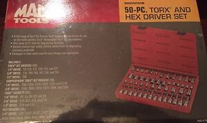 MAC Tools 50 piece torx/hex kit