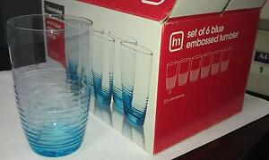6x500ml drinking glasses set New in box! Ultimo Inner Sydney Preview