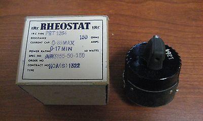 Nos Rheostat 150 Ohm 50 Watts Aircraft Power An3155-50-150