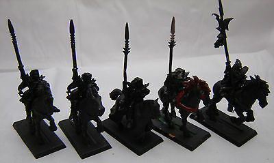 Warhammer Dark Elf  Dark Riders  army lot    note no tail bits