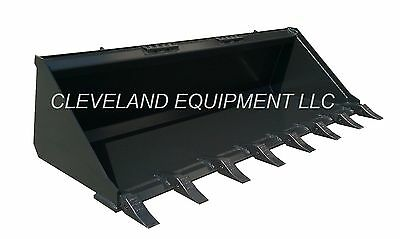 New 60 Tooth Bucket Skid Steer Loader Attachment Teeth Komatsu Terex Volvo Case