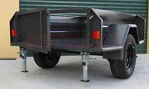 Camper trailer. 7x4 Off Road High side Box trailer Brisbane Region Preview