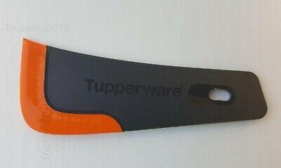 TUPPERWARE Griffbereit 2x Großer Top-Schaber SCHWARZ//ORANGE ROT//WEIß