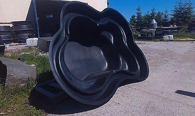 KLEE koi gartenteich gfkteich gfk teich T2300 Liter fertigteich becken 90cm TIEF