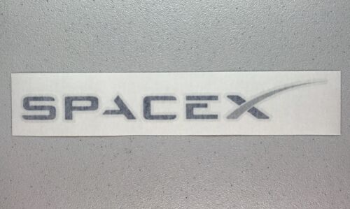 SpaceX Logo Decal LARGE 12in - Authentic SpaceX Merchandise Sticker