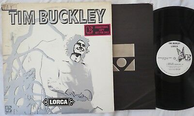 TIM BUCKLEY, Lorca WHITE LABEL PROMO Robert Ludwig USA LP